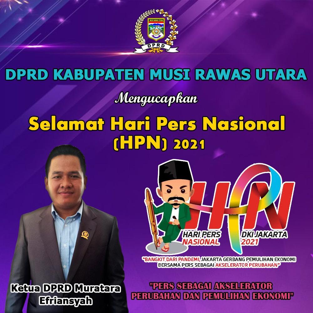 Iklan HPN 2021 SH DPRD Muratara